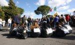 Manifestazione per dire No alla discarica a Villa Adriana